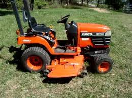 2003 Kubota BX 2200 Tractor / Lawn mower - YouTube